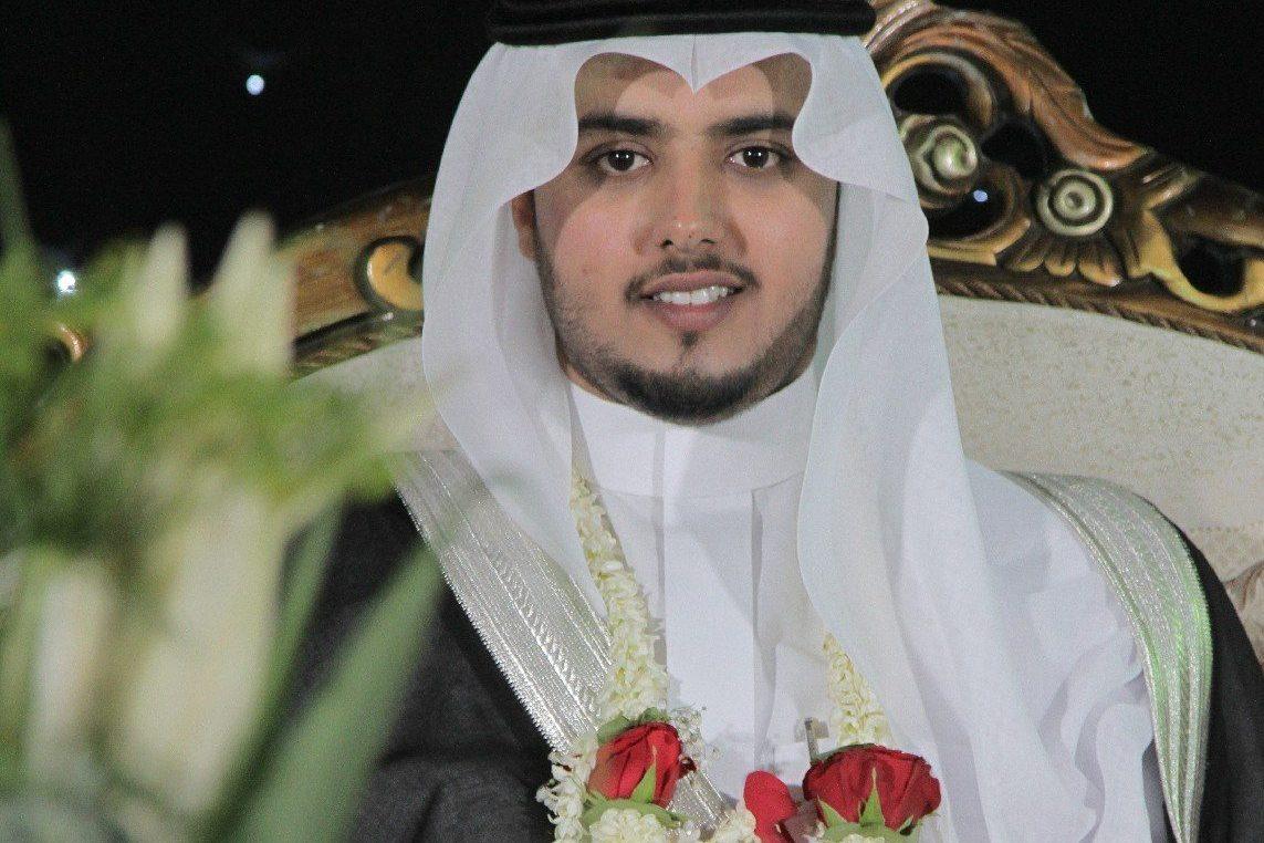 زواج الشاب: عبدالله علي الشيخي